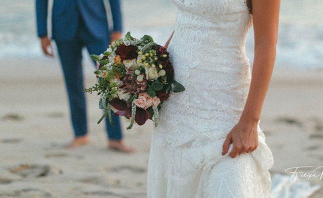 Mini casamento durante pandemia do coronavírus