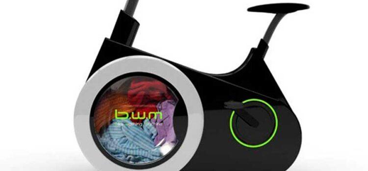 Alunos criam máquina de lavar a pedal